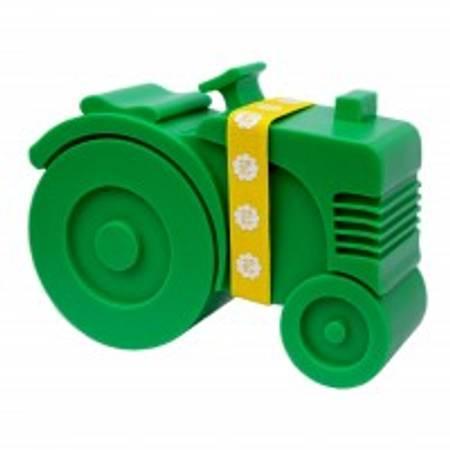 Traktor matboks grønn