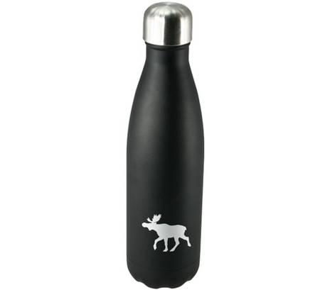 Termoflaske med elg motiv