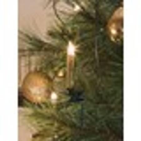 Juletrebelysning gull 40 stk